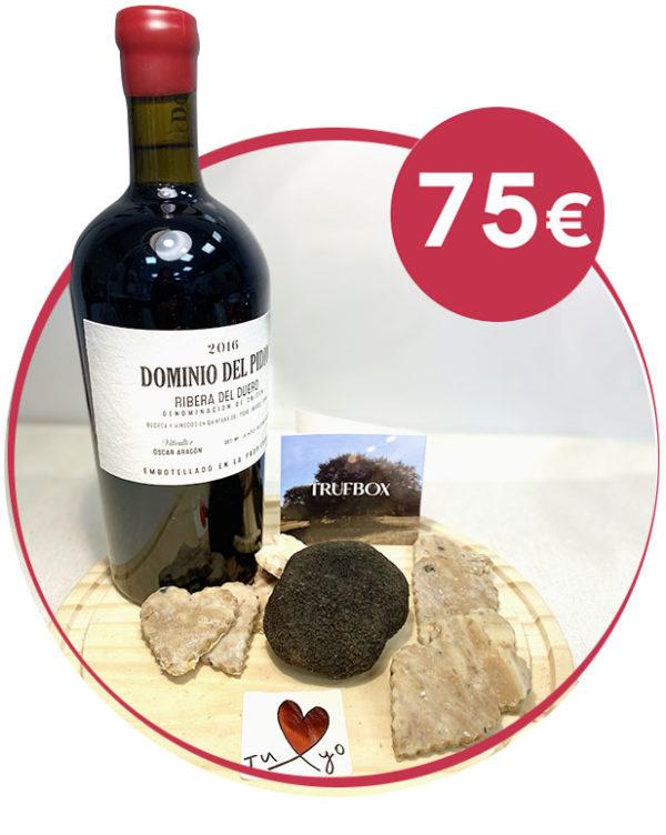 pack romantico vino tinto