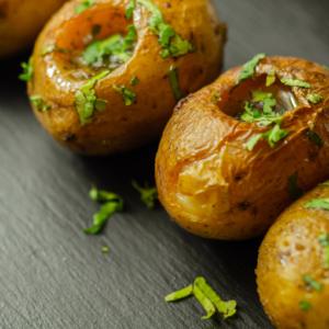 patatas rellenas trufa