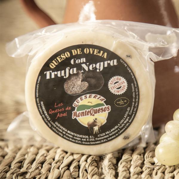 queso de oveja con trufa