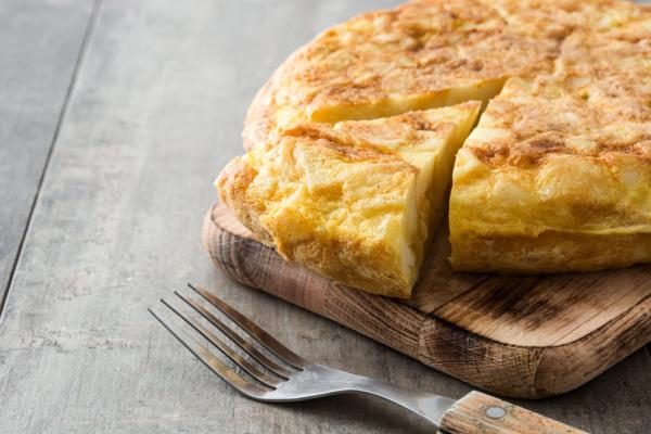 tortilla patatas trufa